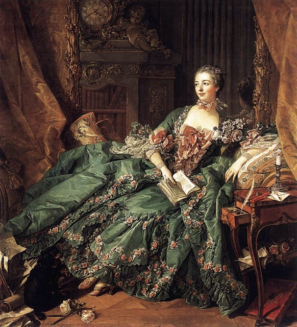 Madame Pompadour dönemi Fransa 57