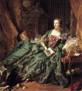 Boucher, Madam Pompadour Portresi