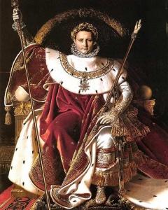 Napolyon I İmparatorluk Tahtında
