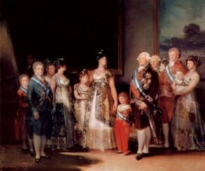 IV. Carlos ve Ailesi