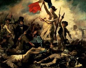 Delacroix, Halka Önderlik Eden Hürriyet