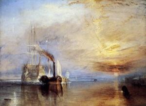 Savaş Gemisi Temeraire'nin Sökülmek İçin Son Palamar Yerine Çekilmesi