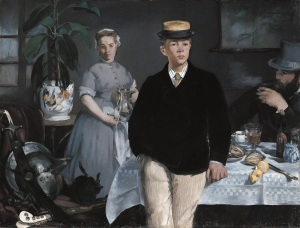Edouard Manet, Stüdyoda Kahvaltı
