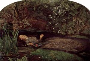 John Everett Millais, Ophelia'nın Ölümü