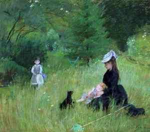 Berthe Morisot, Çimenlerde