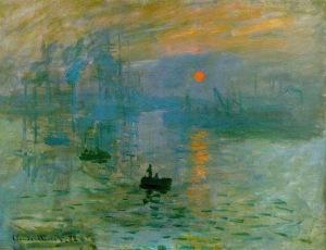 Claude Monet, İzlenim, Gün Doğumu