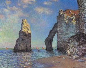 Claude Monet, Etretat Kayalıkları
