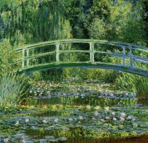 Claude Monet, Nilüfer Havuzu Yeşil Uyum