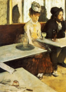Edgar Degas, Absint İçenler