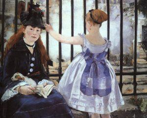 Edouard Manet, St. Lazare Garı