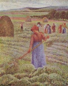 Camille Pissarro, Hasat