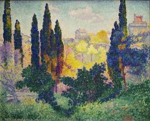 Henri Edmond Cross, Cagnes'de Selvi