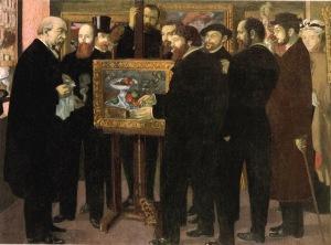 Maurice Denis, Cezanne'a Saygı
