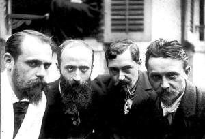 Ker-Xavier Roussel, Edouard Vuillard, Romain Coolus, Felix Vallotton