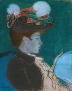 Louis Anquetin, Kitap Okuyan Kadın