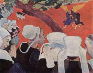 Paul Gauguin, Vaazdan Sonraki Görüntü