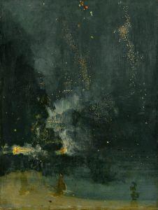 James Abbott McNeill Whistler, Noktürn: Siyah ve Altın Yaldız-Ateş Çemberi